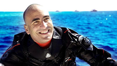 Egyptian diver Ahmed Gabr is now the Guinness World Records - certified deepest scuba diver