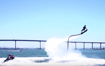 Tony Hawk Flies the Hoverboard by ZR®