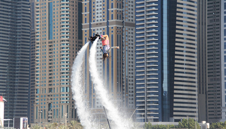 XDubaï Flyboard World Cup