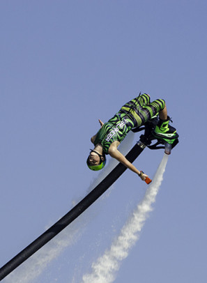 British riders Sonnie Bean wins the first Flyboard® European championship
